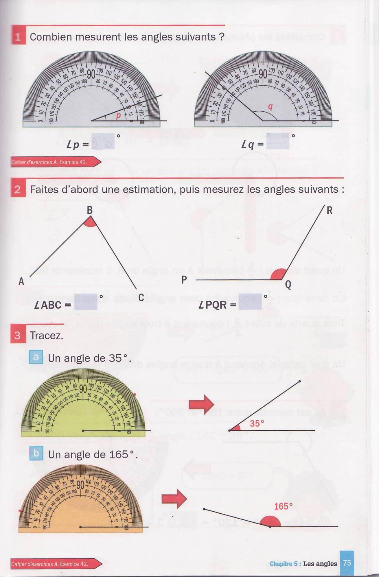 les angles manuel cm10001