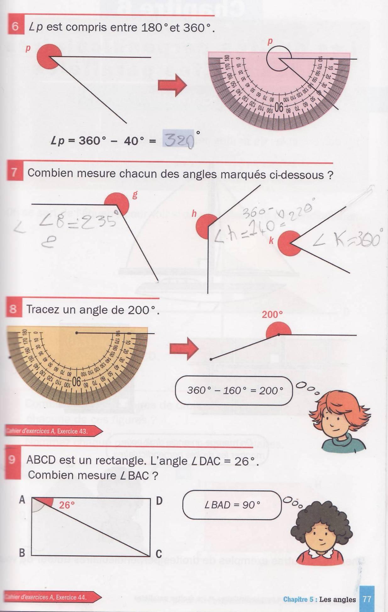 les angles manuel cm10003
