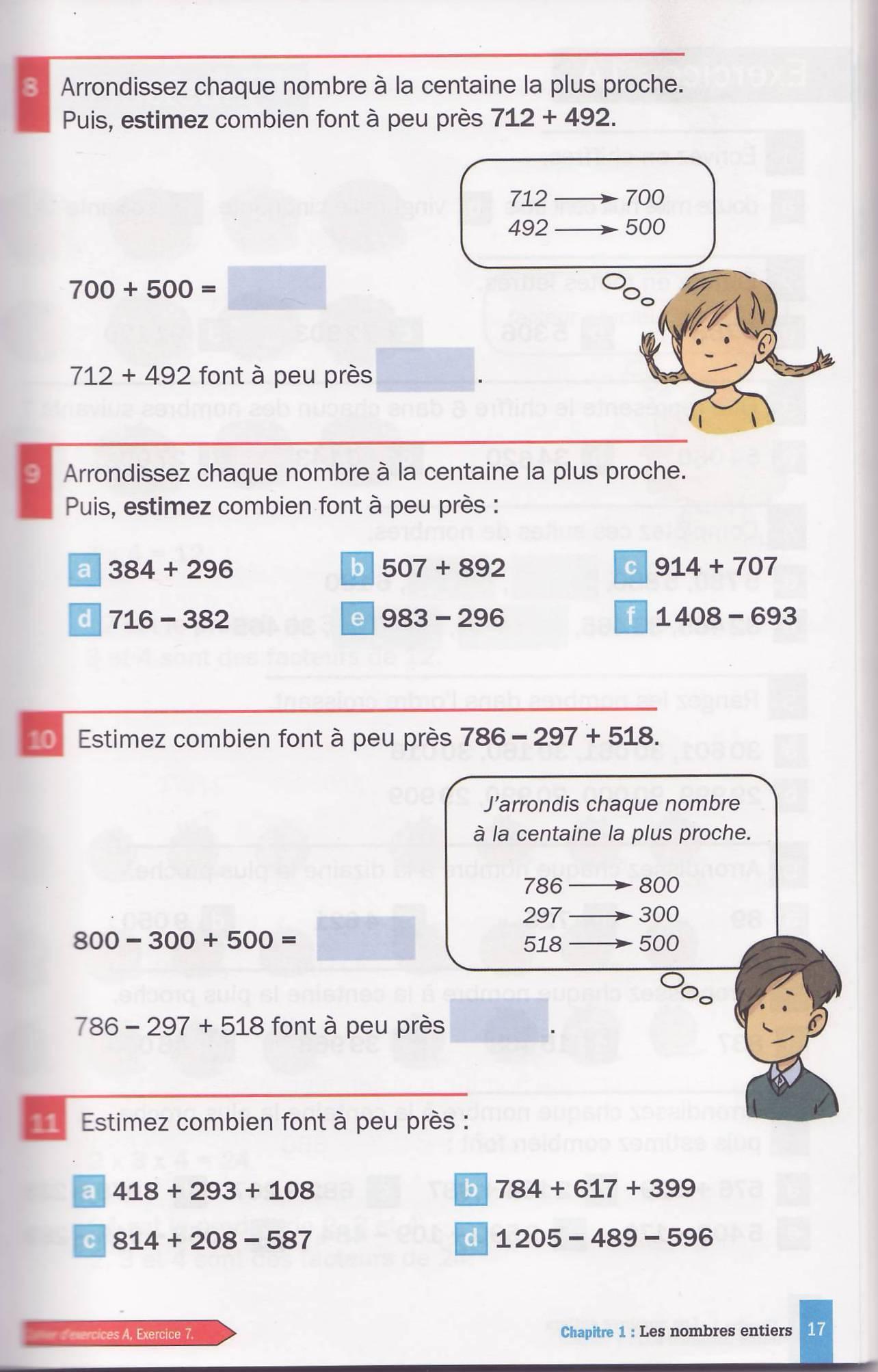 les nombres arrondis manuel cm10002