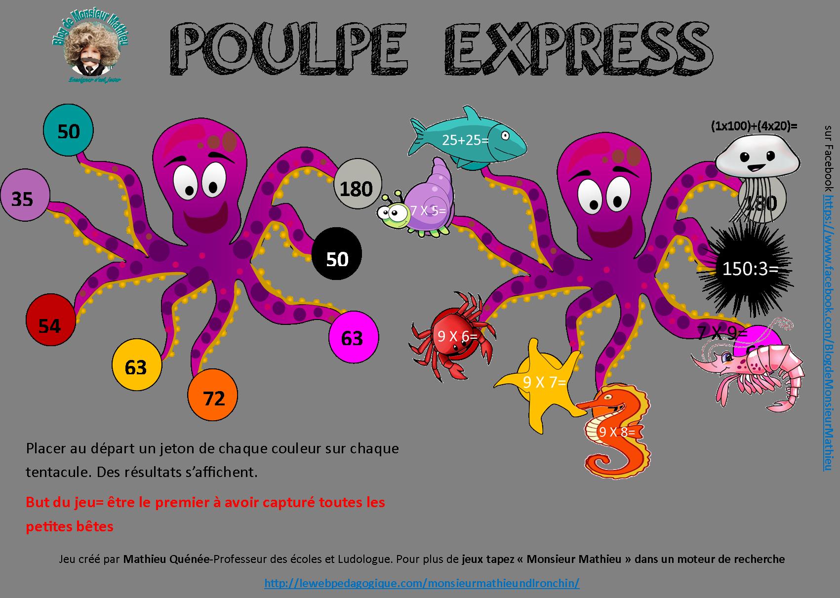 poulpe-express-le web pédagogique