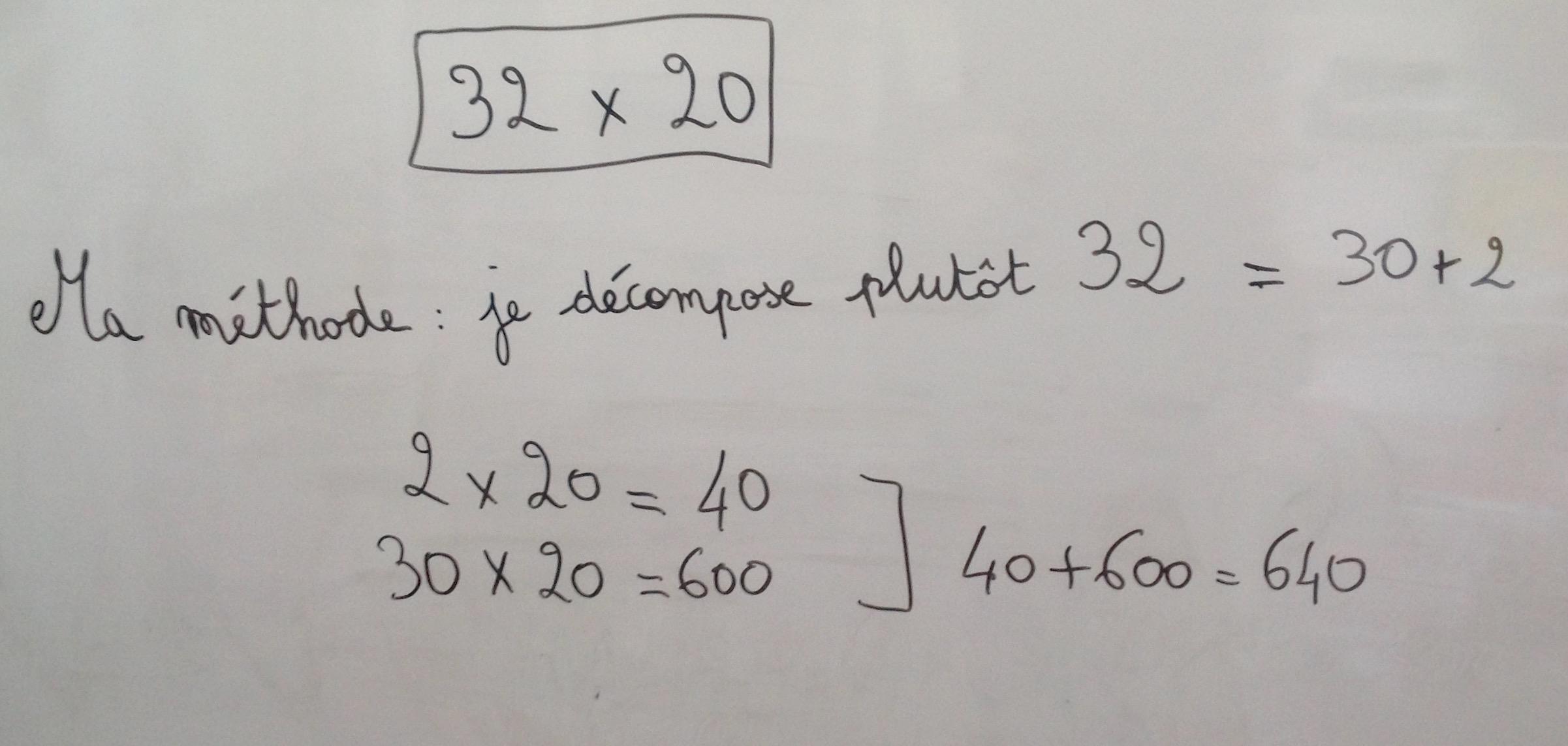 x à 2 chiffres 2