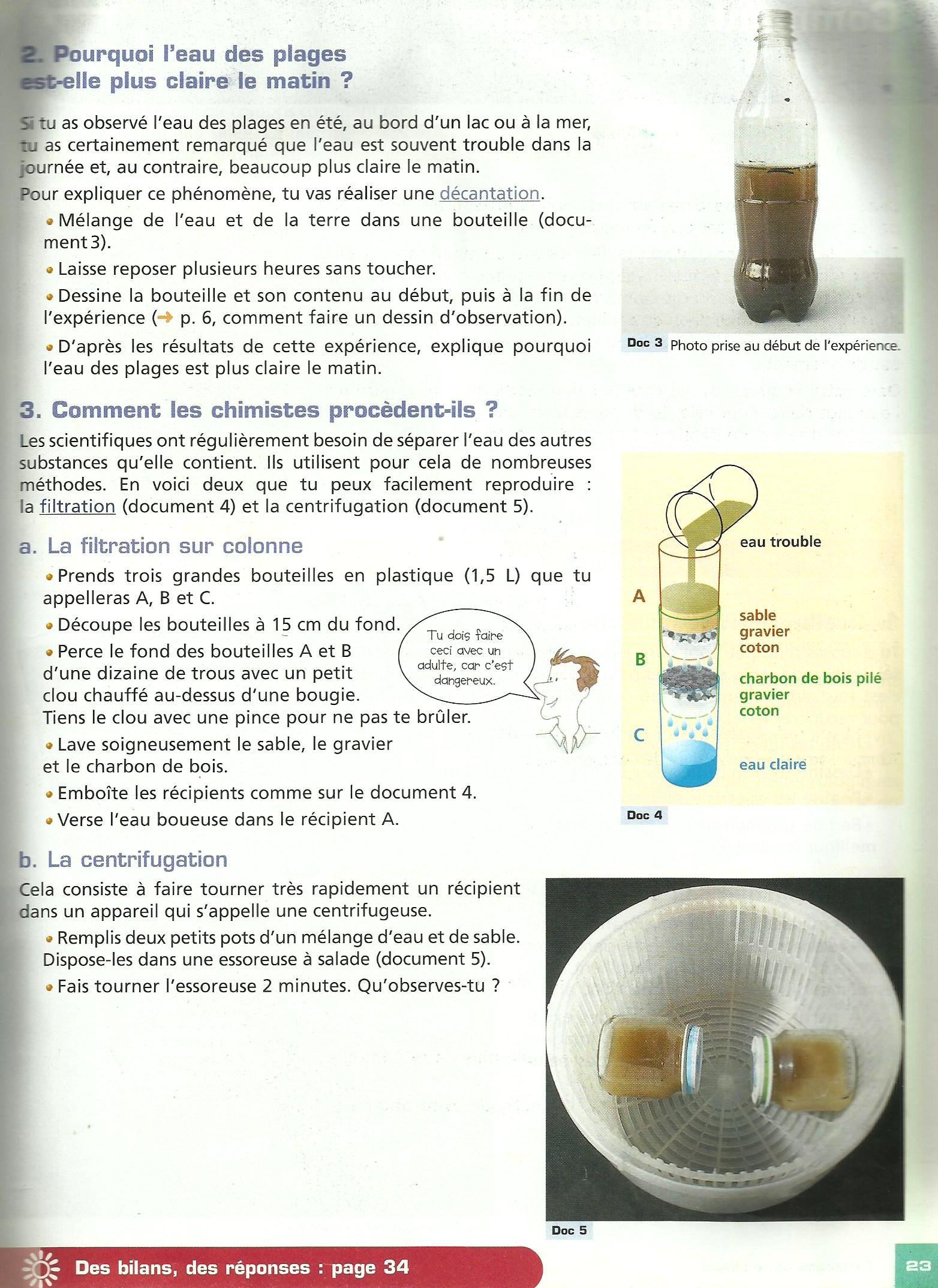 comment rendre claire de l'eau trouble 2