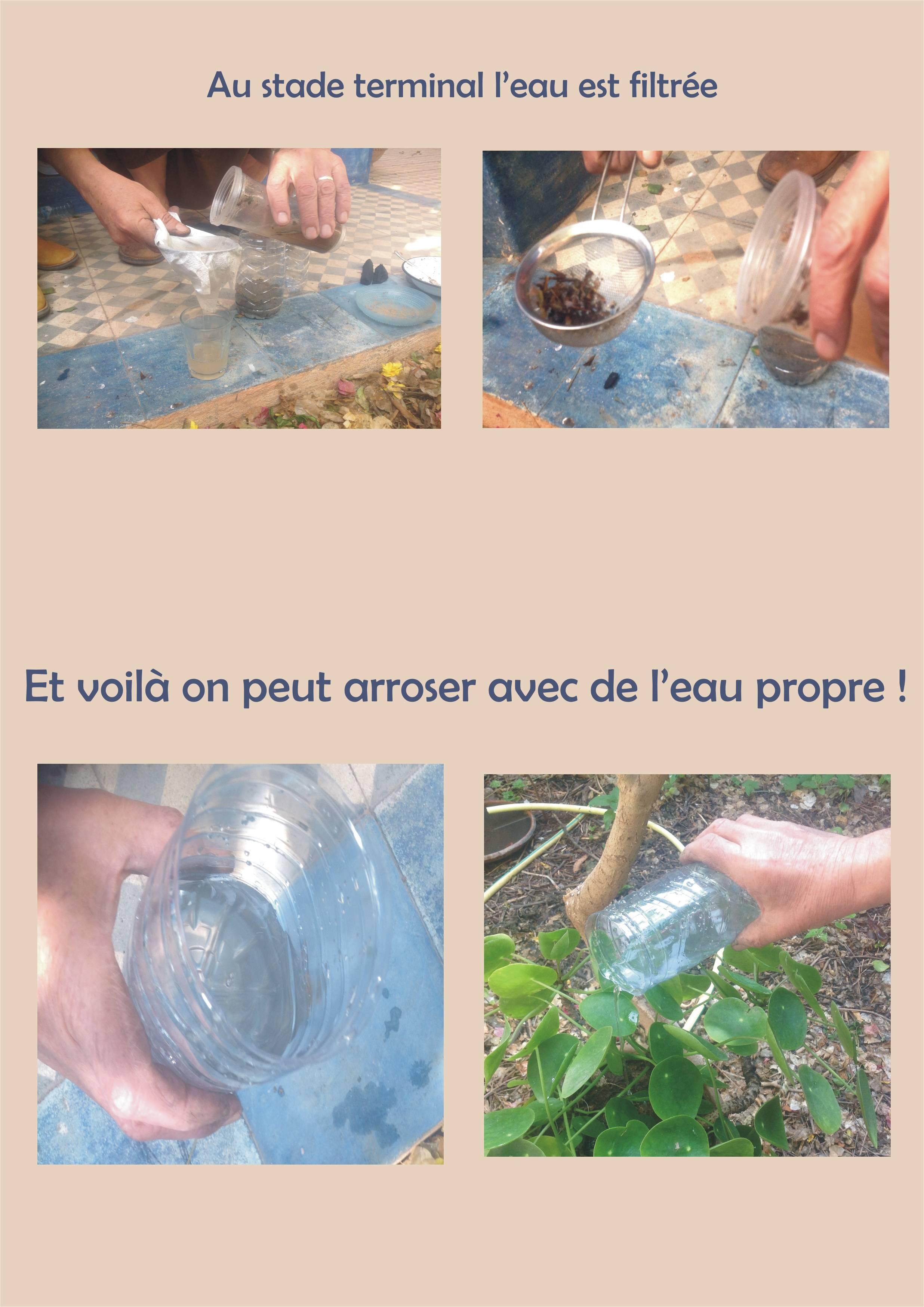 rendre claire de l'eau trouble 2