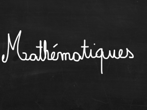ardoise mathématiques