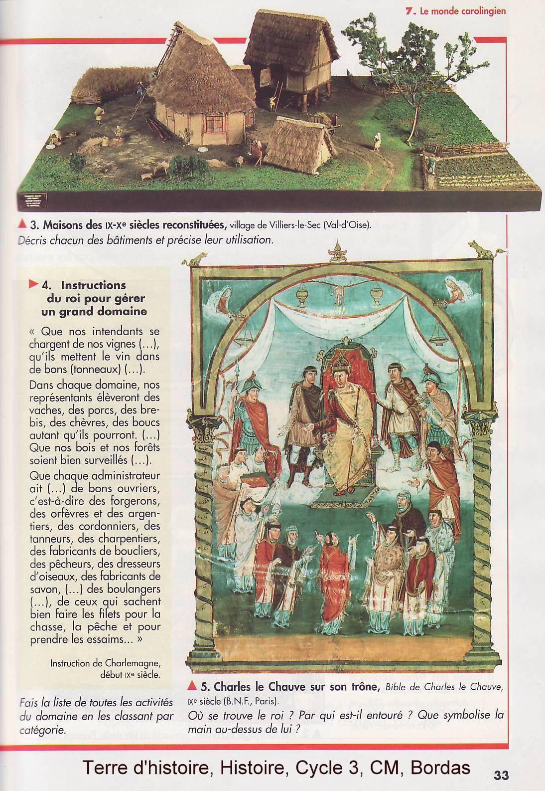le monde carolingien 2