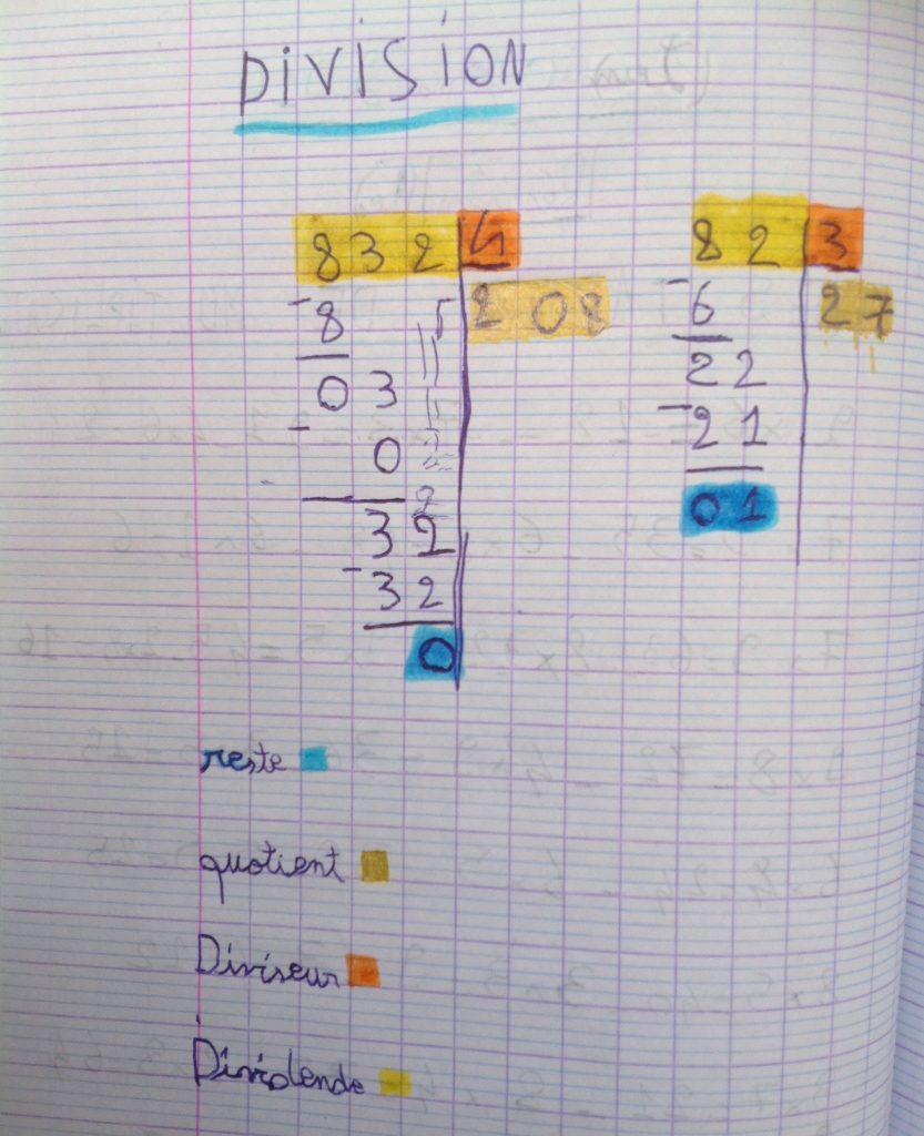 division-cahier