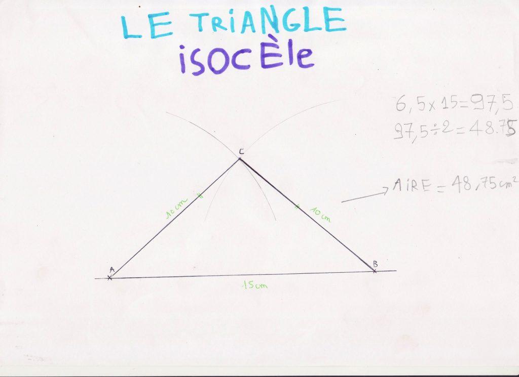 triangle-isocele